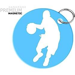Carcasa de baloncesto JCM llavero cierre magnético, Artic AD