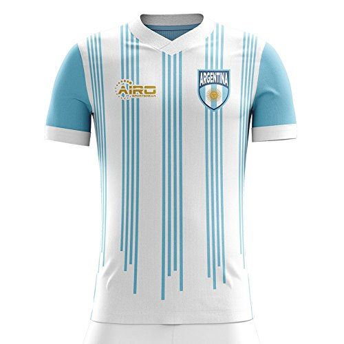 Airo Sportswear 2018-2019 Argentina Home Concept Football Soccer T-Shirt Camiseta (Kids)