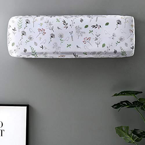 Klimaanlage Abdeckung Staubschutz-set Wand-indoor-haushalt Schutzabdeckung Hängende Maschine All-inclusive-tuch 88 * 31 * 20cm Kleine Blumen