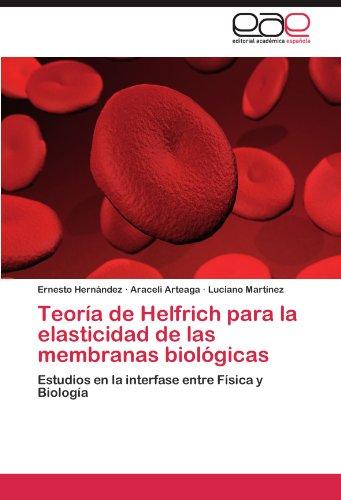 Teoría de Helfrich para la elasticidad de las membranas biológicas: Estudios en la interfase entre Física y Biología por Ernesto Hernández