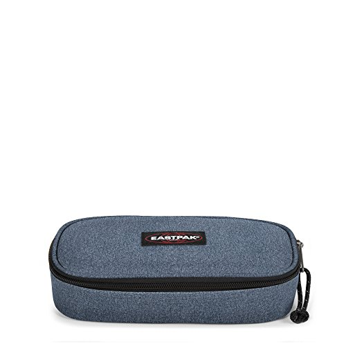 Eastpak - Trousse Oval 5 x 22 x 9 cm, Double Denim