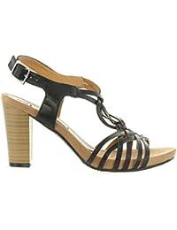 Maria Mare 66167 - Zapatos de vestir para mujer, color negro (suedi negro), talla 40