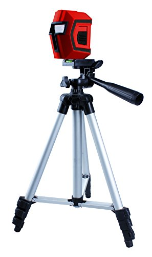 Korman 504100–Livella laser a croce + treppiede
