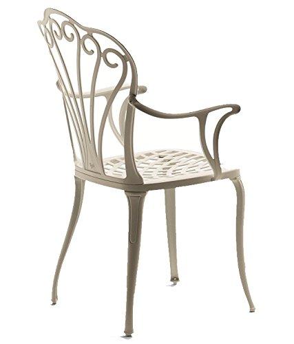 Fast Armonia fauteuil en aluminium Art.30 couleur Blanc