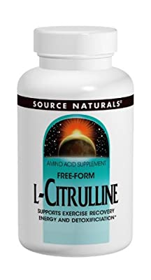 Source Naturals L-Citrulline, 30 Tabs, 1000 Mg by Source Naturals