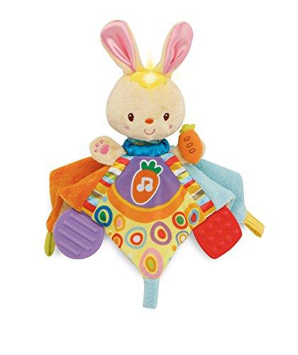 VTech Baby – Bedtime Bunny Comforter – 2-in-1 Kuscheltuch (Englische Sprache)