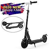 Elektro Scooter, Elektroroller Faltbar City Roller Zusammenklappbarer Cityscooter Erwachsene(schwarz)