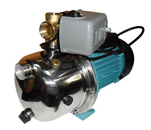 Wasserpumpe 1100W 60l/min mit Druckschalter mit Trockenlaufschutz