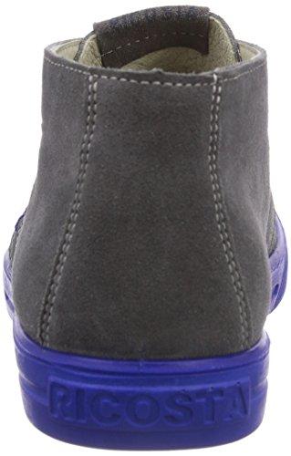 Ricosta Brian Unisex-Kinder Hohe Sneakers Grau (patina 451)