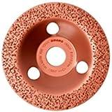 Sidamo - Plateau à poncer carbure - D.125 x 22,23 mm Gr 14 Plat - Carbocup - multi-matériaux - 10805011