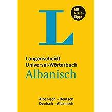 Langenscheidt Universal-Wörterbuch Albanisch: Albanisch-Deutsch/Deutsch-Albanisch (Langenscheidt Universal-Wörterbücher)