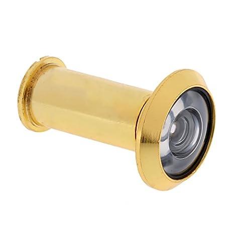 MagiDeal Haus Sicherheit 200 Grad Tür Scope Viewer-Peep Sight Loch aus Zinklegierung