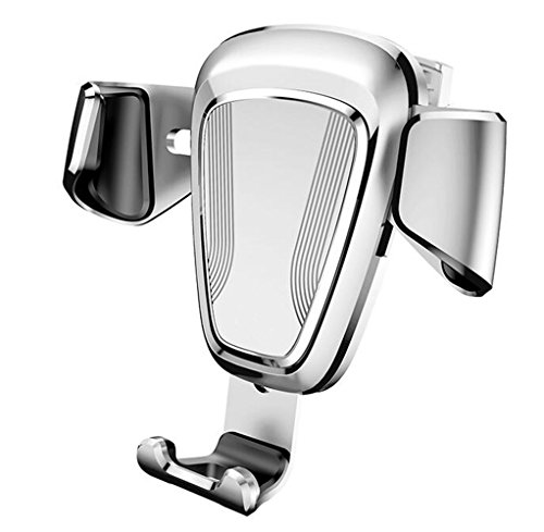 Aluminium Frame Sofa (SHULING Mobiltelefon-Ständer Auto Halterung Für Mobiltelefon Car Outlet Snap-In-Car Universal Multi - Die Navigation Frame, A, Silber)