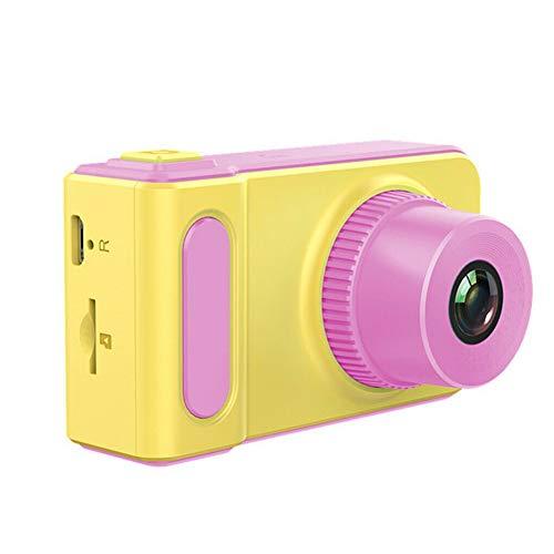 WEISY Digitale Spielzeugkamera Kinder, Kinder Mini Kamera 2 Zoll Bildschirm IPS HD für Mädchen Jungen Foto Video Rekord Kleinkind Geburtstagsgeschenke