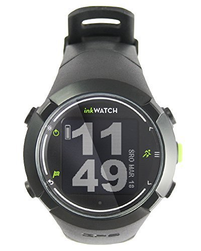 inkWATCH TRIA - Run Bikie Swim - GPS Sport Watch for Running, Cycling, Swimming with Virtual Trainer; Fitness Running Watch, Tracks Distance, Time and Pace, Smart Lap, Interval Training.