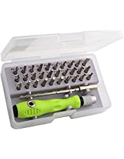 Cable World 32 in 1 Mini Screwdriver Bits Set with Magnetic Flexible Extension Rod