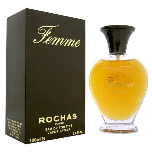 Rochas Femme Eau de Toilette Spray 100 ml (93,6 gram)