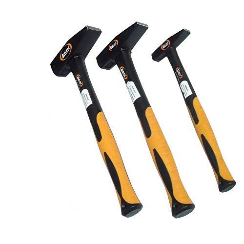 3 Hammer-Set 1 kg 300 g 100 g Schlosserhammer DIN 1041 Hammer Satz Hammer Set