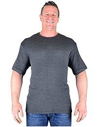 Kam Big Mens Charcoal Easter Thermal T-Shirt 2XL 3XL 4XL 5XL 6XL 7XL 8XL