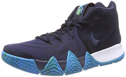 NIKE Herren Kyrie 4 Basketballschuhe, Blau (Dark Obsidian/Black 401), 41 EU