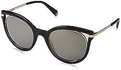 Polaroid Polarized Cat Eye Womens Sunglasses - (PLD 4067/S 2M2 51LM|51|Gold Color)