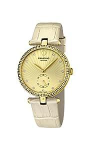 Candino - C4564/2 - Montre Femme - Quartz - Analogique - Bracelet Cuir beige