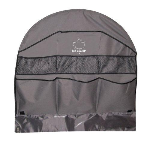 BoCamp Radauschnitttasche, rund mit 6-fach Organizer mit 3 kleinen Netztaschen