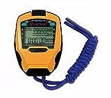 Cuzit, cronometro timer, 3file di 100giri, cronometro professionale, per sport all'aperto, con contatore digitale e timer