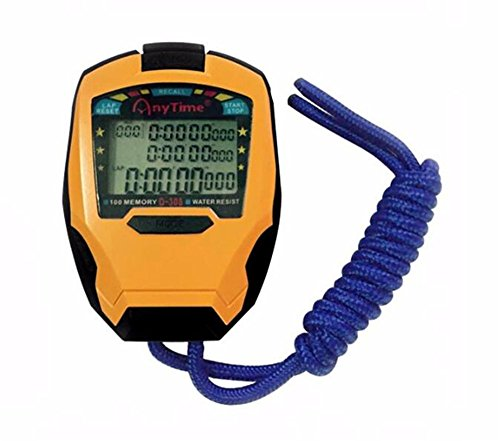 Cuzit cronómetro temporizador 3filas 100vueltas