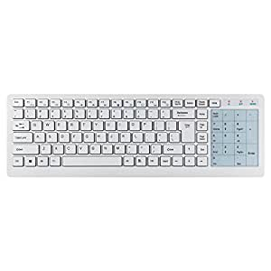 TeckNet 2.4G Wireless Touch Keyboard For Smart TV and Windows PC