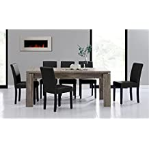 Conjunto mesas y sillas comedor for Mesas de comedor amazon