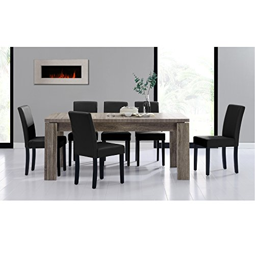 [en.casa] Set de comedor mesa 'Helsinki' (antigua...