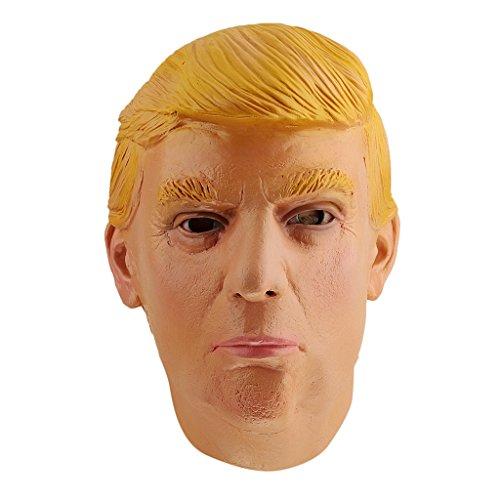 Donald Trump Gesichtsmaske Kostüm Cosplay Halloween-Abschlussball-Partei