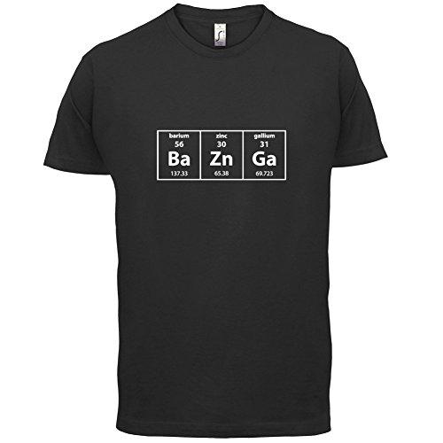 BaZnGa (Bazinga) Periodensystem - Herren T-Shirt - 13 Farben Schwarz