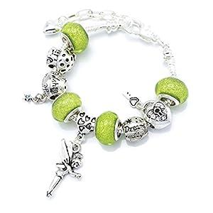 """""""Tinkerbell"""" Feen-Charm-Armband in Geschenkbox, Schmuck für Mädchen."""
