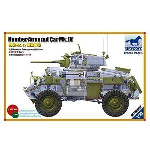 Unbekannt Bronco Models cb35081sp-Maqueta de Humber Armored Car MK.IV, Limited Editio 3.999Only
