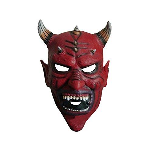 Uiophjkl Neuheit Halloween Devil Carnival Night Party Hörner -