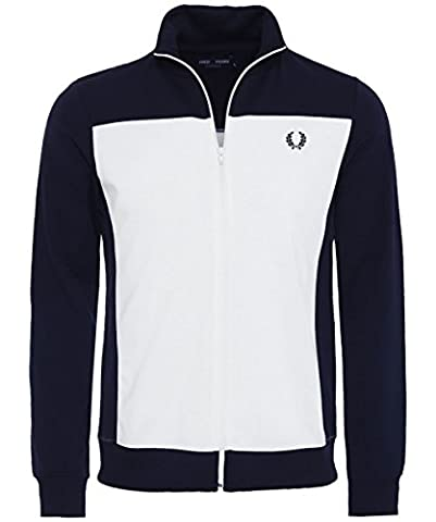 Fred Perry Embroidered Track Jacket, Sportjackett - M