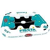 Sportsstuff Fiesta Isola del tubo Il Sportsstuff Fiesta Isola ha spazio per 8 persone con stampati portabicchieri PVC tutto intorno e una superficie inferiore a rete confortevole per mantenere la pelle fresca , mentre si sta rilassante . Le c...