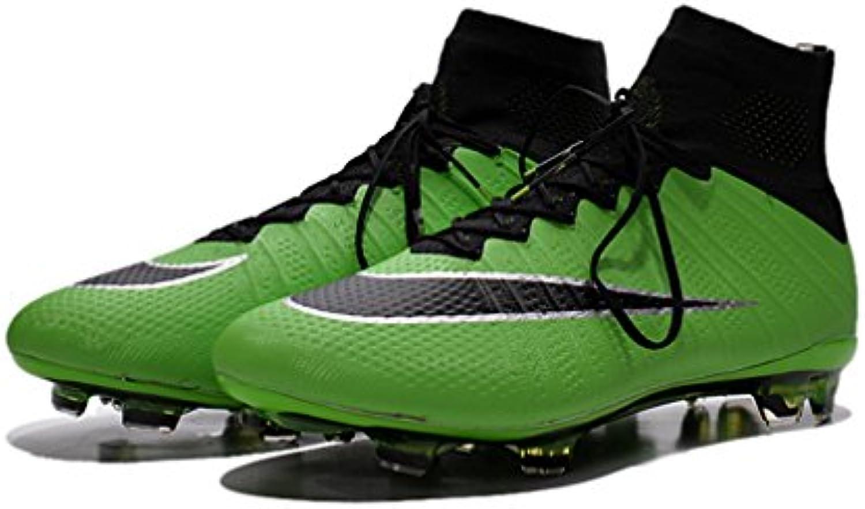 Homme Mercurial Chaussures x Superfly FG Chaussures Mercurial de Football haute Top Rouge Bottes de Football d773aa