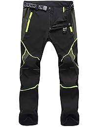 Freiesoldaten Hombres Ropa deportiva Pantalones de escalada transpirables y ligeros Pantalones de montaña de senderismo de