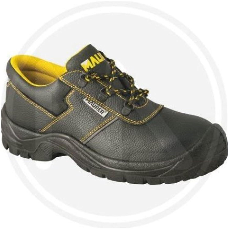 Zapatos de seguridad BAJO Color NEGRO Mod. Tamaño 39 MILLAS Maurer S3