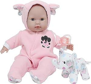 JC TOYS- Muñecos bebé, Color Pink (30029)