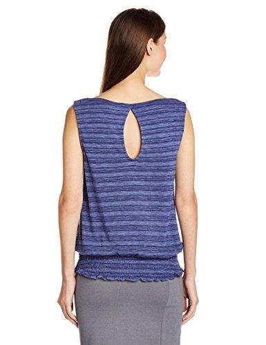 Roxy Damen Strickshirt Terra Mar J KTTP Blau-Blue (Light Denim Ikat Stripe)
