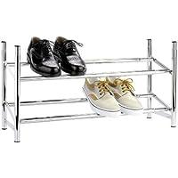 Wenko 7050100 Etagère à Chaussures Télescopique Empilable