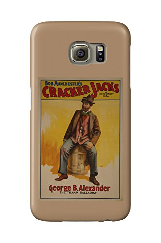 the-cracker-jacks-the-tramp-balladist-poster-galaxy-s6-cell-phone-case-slim-barely-there