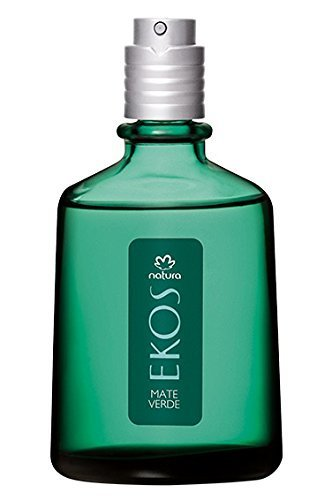 Linha Ekos Natura - Colonia Mate Verde 100 Ml - (Natura Ekos Collection - Green Hierba Matte Eau De Cologne 3.38 Fl Oz) by Natura
