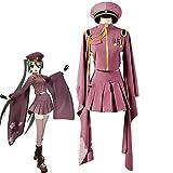 ZLLZM Hatsune Miku Anime Cosplay Costume Senbonzakura Completo Uniforme Militare,M