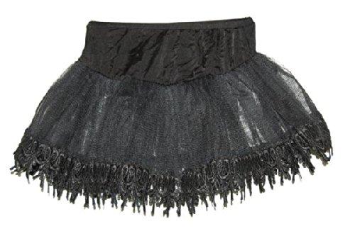 Petticoat Black Teardrop Lace (Petticoat Teardrop Lace)
