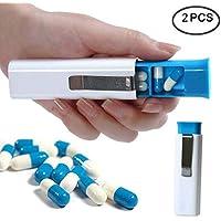 WESEEDOO Portable Pill Box 3 Container Medizin Lagerung Inhaber Fall mit Clip Reise Pillen Fall Container Clip preisvergleich bei billige-tabletten.eu